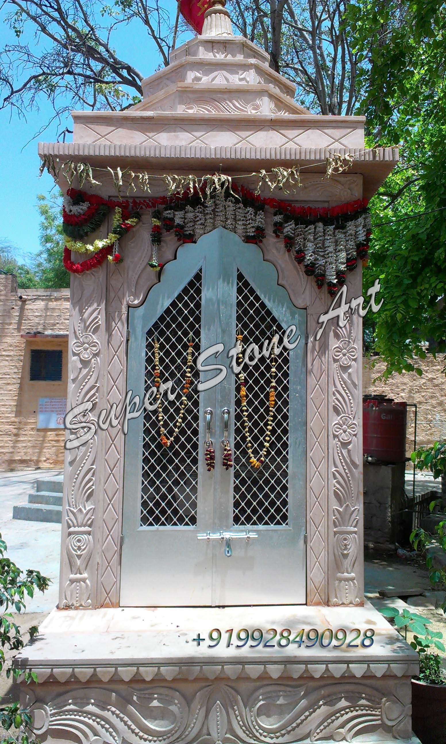 Front elevation designs,jodhpur sandstone, jodhpur stone art ...