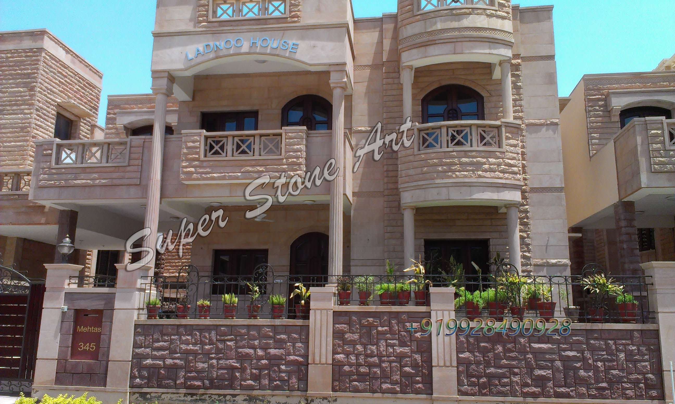 front elevation designs,jodhpur sandstone, jodhpur stone art
