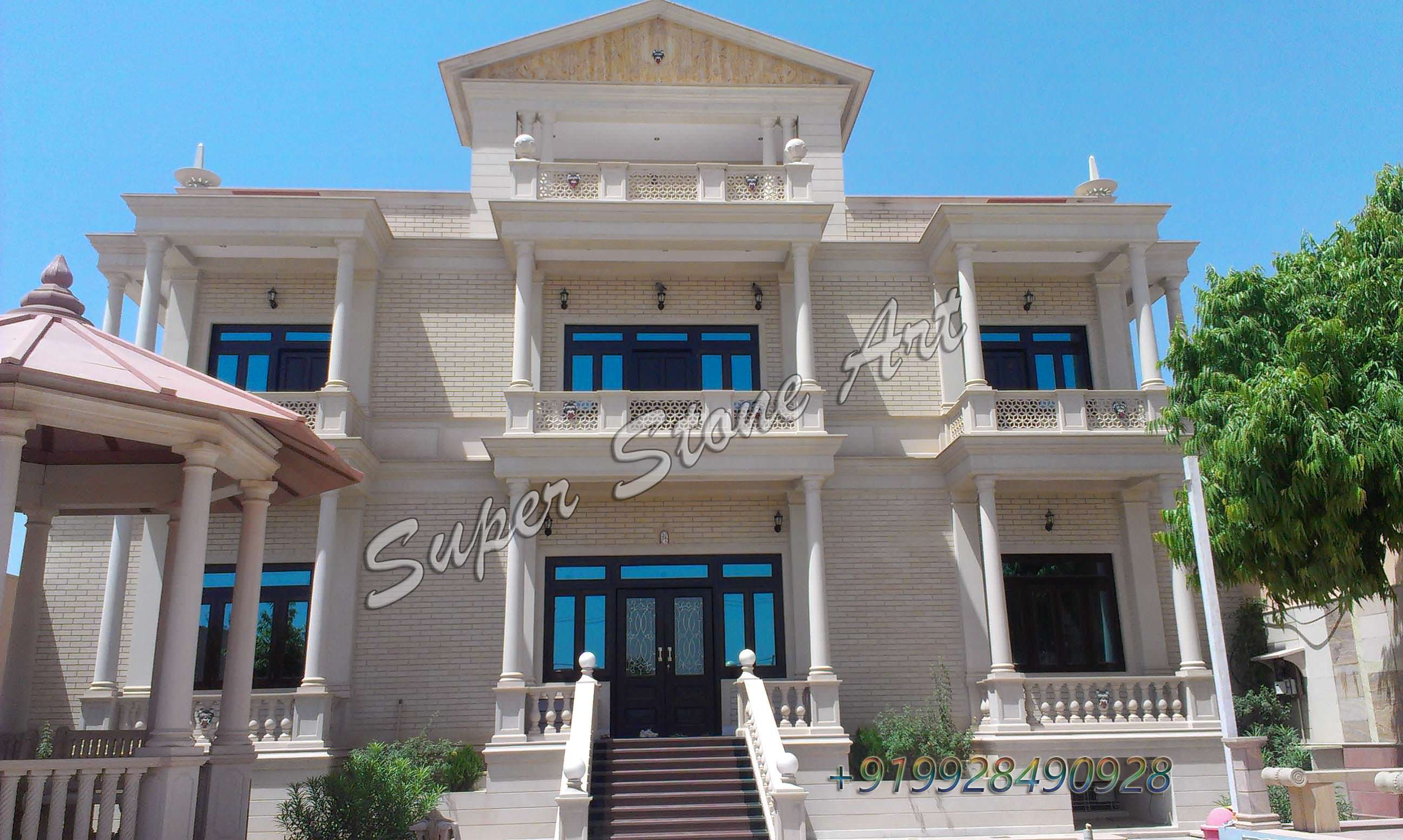 stone front elevation front elevation designs jodhpur sandstone rh superstoneart com simple house design in rajasthan