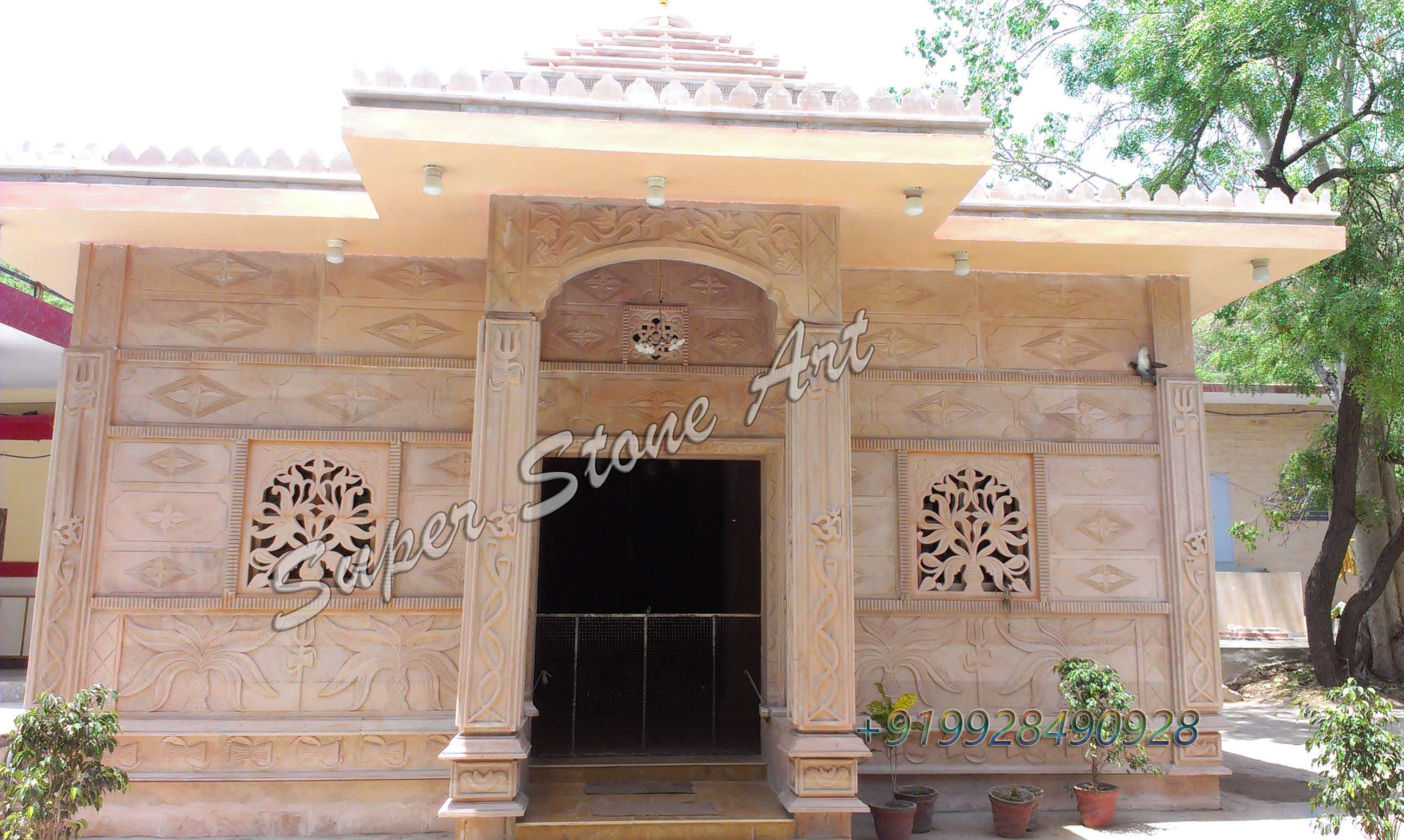 Front Elevation Of Houses In Jodhpur : Stone front elevation designs jodhpur