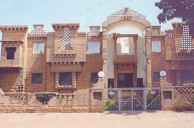 Stone Work Elevation : Stone front elevation designs jodhpur