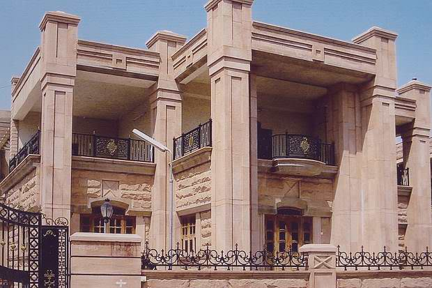 Front Elevation Stone Work : Stone front elevation designs jodhpur