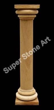 Stone Pillar Sandstone Pillar Decorative Stone Pillar