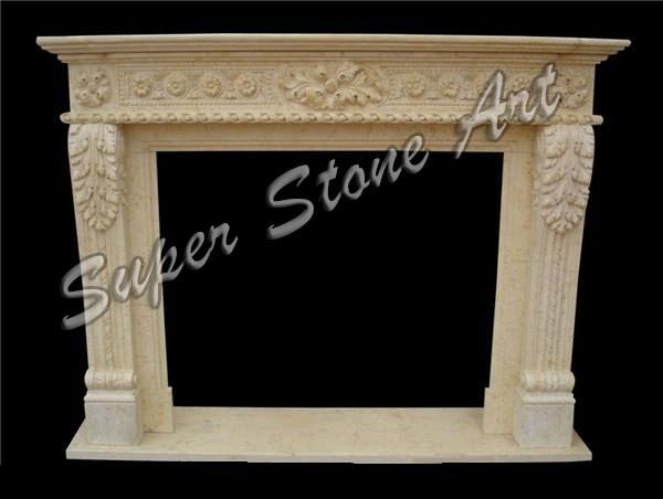 Jaisalmer Stone Elevation : Fireplace natural stone