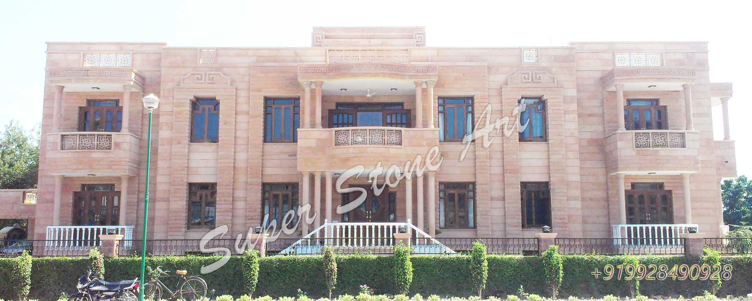 Front Elevation Of Houses In Jodhpur : Front elevation designs jodhpur sandstone stone