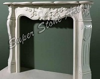 SFP28 fireplace of stone carved beautiful