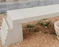 SFN21 natural stone bench, sandstone bench, park bench, outddor stone furniture, park stone bench