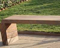 SFN24 Outdoor bench for garden furnitrue made from Sandstone