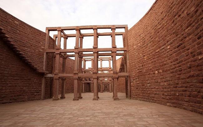 Stone Elevation Jodhpur : Main gate umaid heritage jodhpur