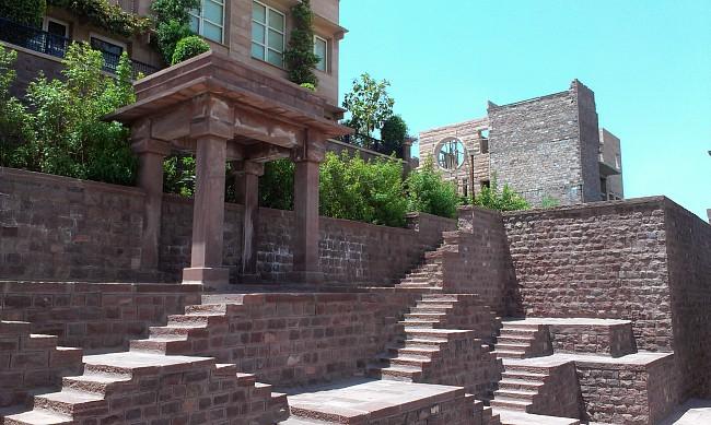 Stone Elevation In Jodhpur : Main gate umaid heritage jodhpur